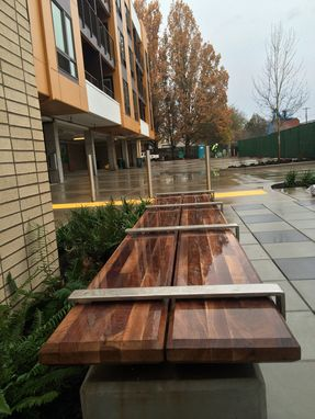 Custom Made Outdoor Benches