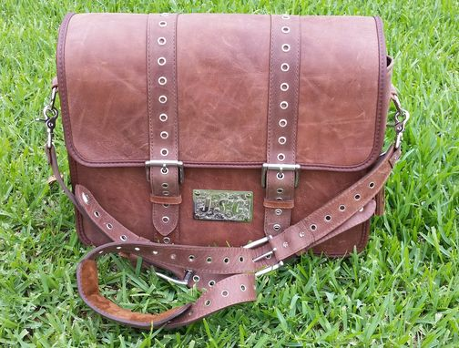 Custom Made Custom Messenger Bags / Briefcase - Built To Order