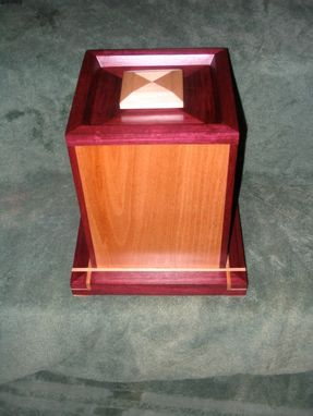 Custom Made Purple Heart Urn