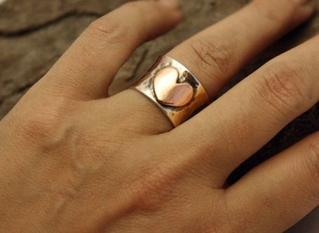 Custom Made Follow Your Heart Ring
