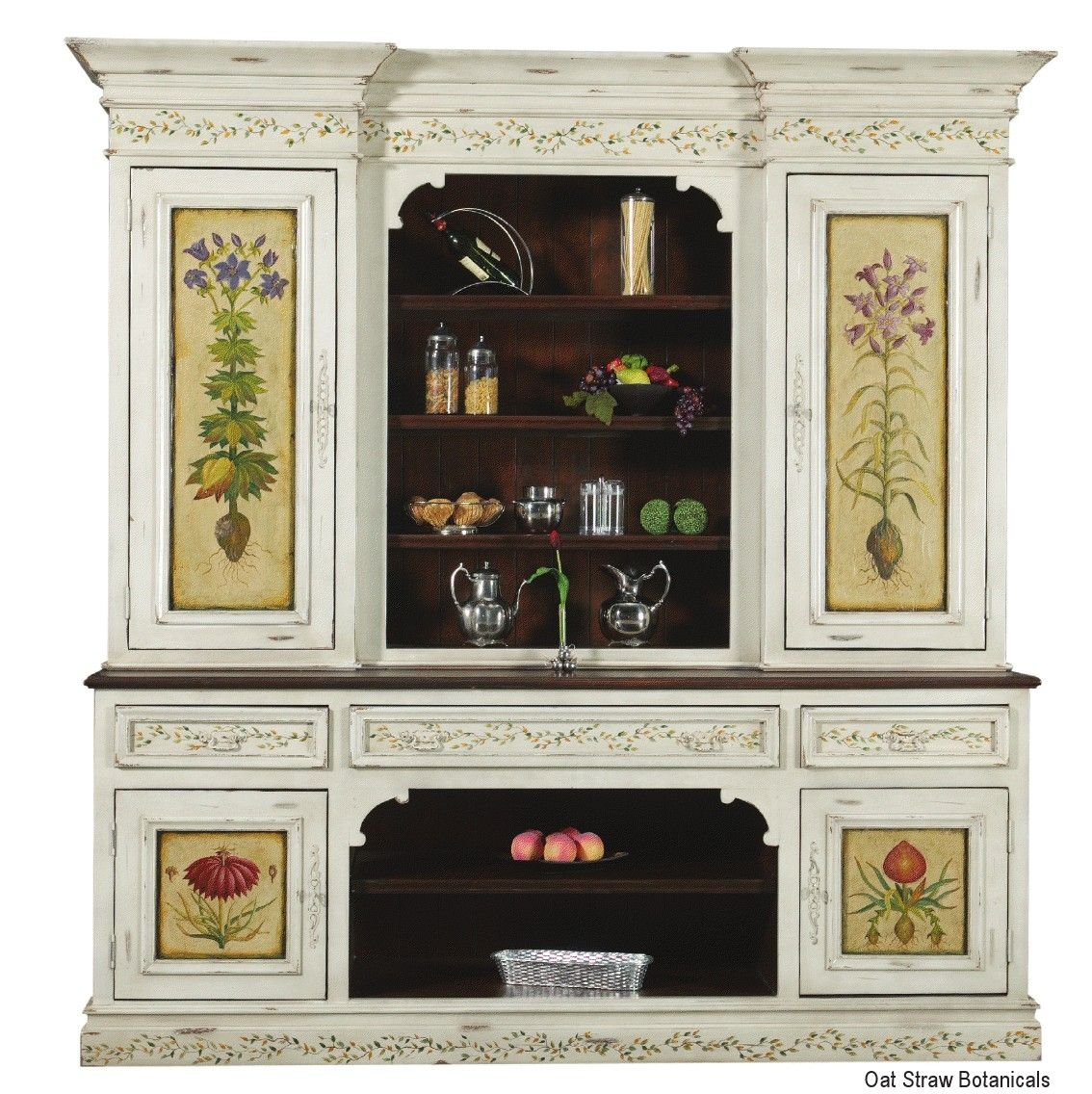 High End China Cabinets Custom Made High End Furniture French Style Hutch By Ttt Llc