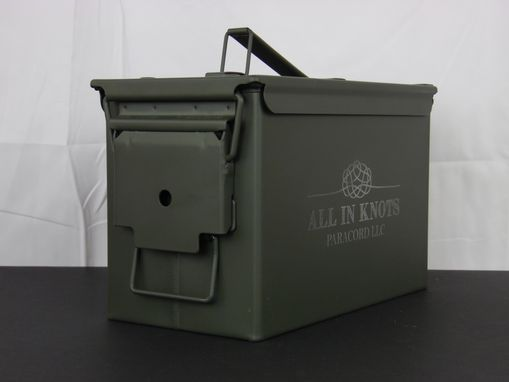 Custom Made Engraved Ammo Box