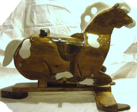 Custom Made Merry Glider Horse
