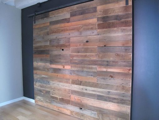 Custom Made Sliding Barnwood Door