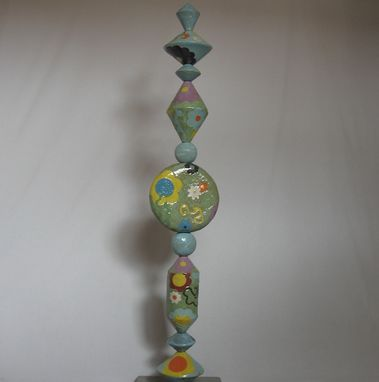 "Custom Made Flowers 51"" Sculpture"