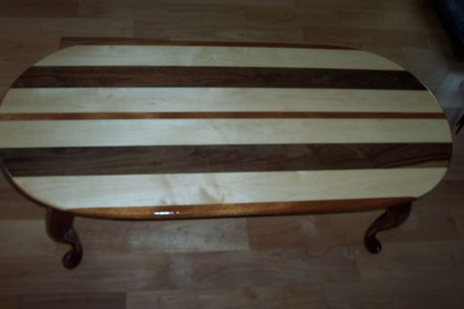Custom Made Segmented Coffee Table