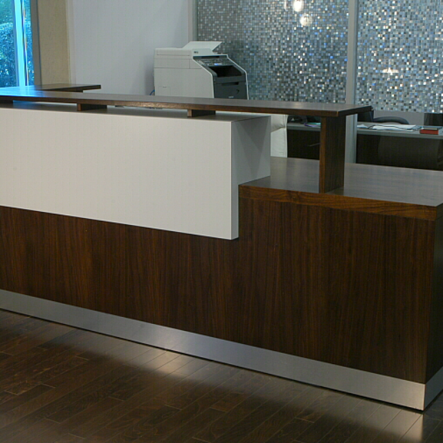 Reception desks for offices custom reception counters custommade duchamp reception desk contemporary reception desk solutioingenieria Images