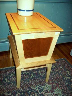 Custom Made Knitting End Table