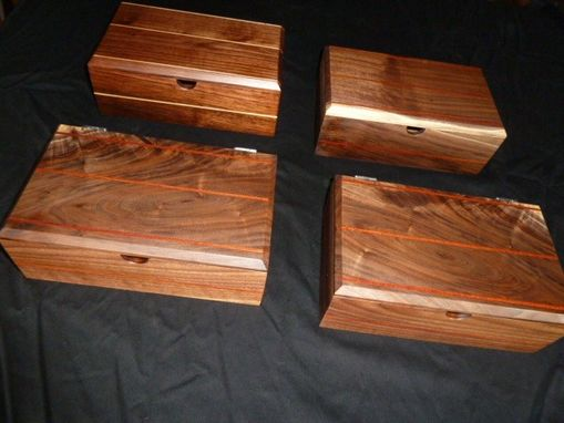 Custom Made Watch Boxes, Jewelry Boxes