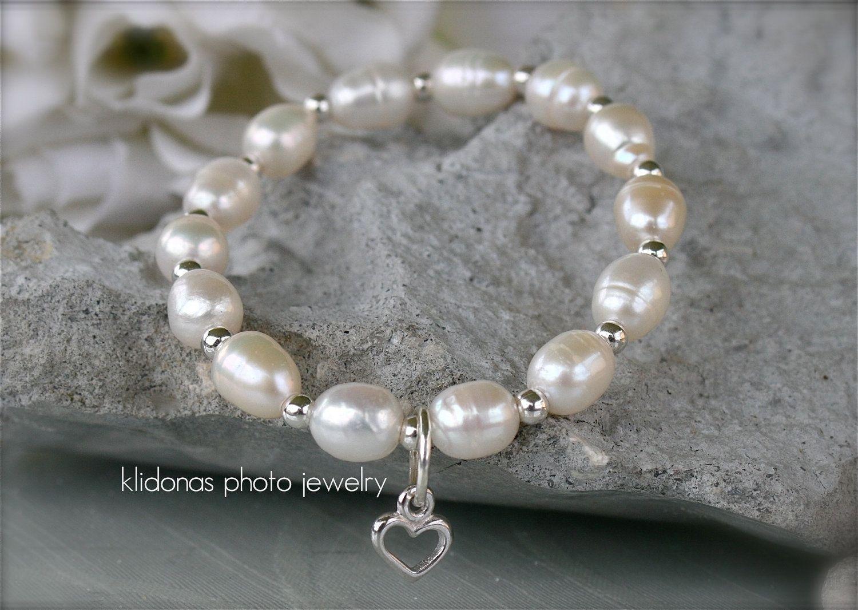Custom Made Wedding Bracelet Bridesmaids Bridesmaid Jewelry Flower