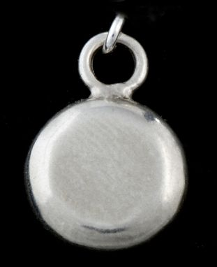 Custom Made Small Flying Disc Charm