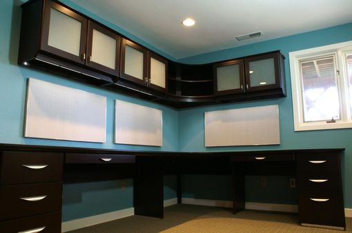 Custom Contemporary Desk System By Roltgen S Woodworks