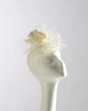Custom Made Sinamay Ribbon Bridal Fascinator
