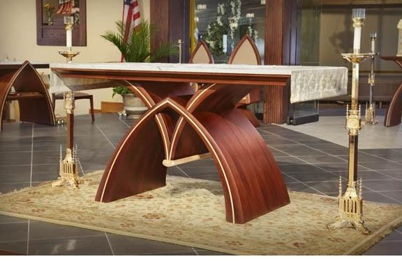 Hand Made Altar Furniture By Michael Colca Furniture Maker