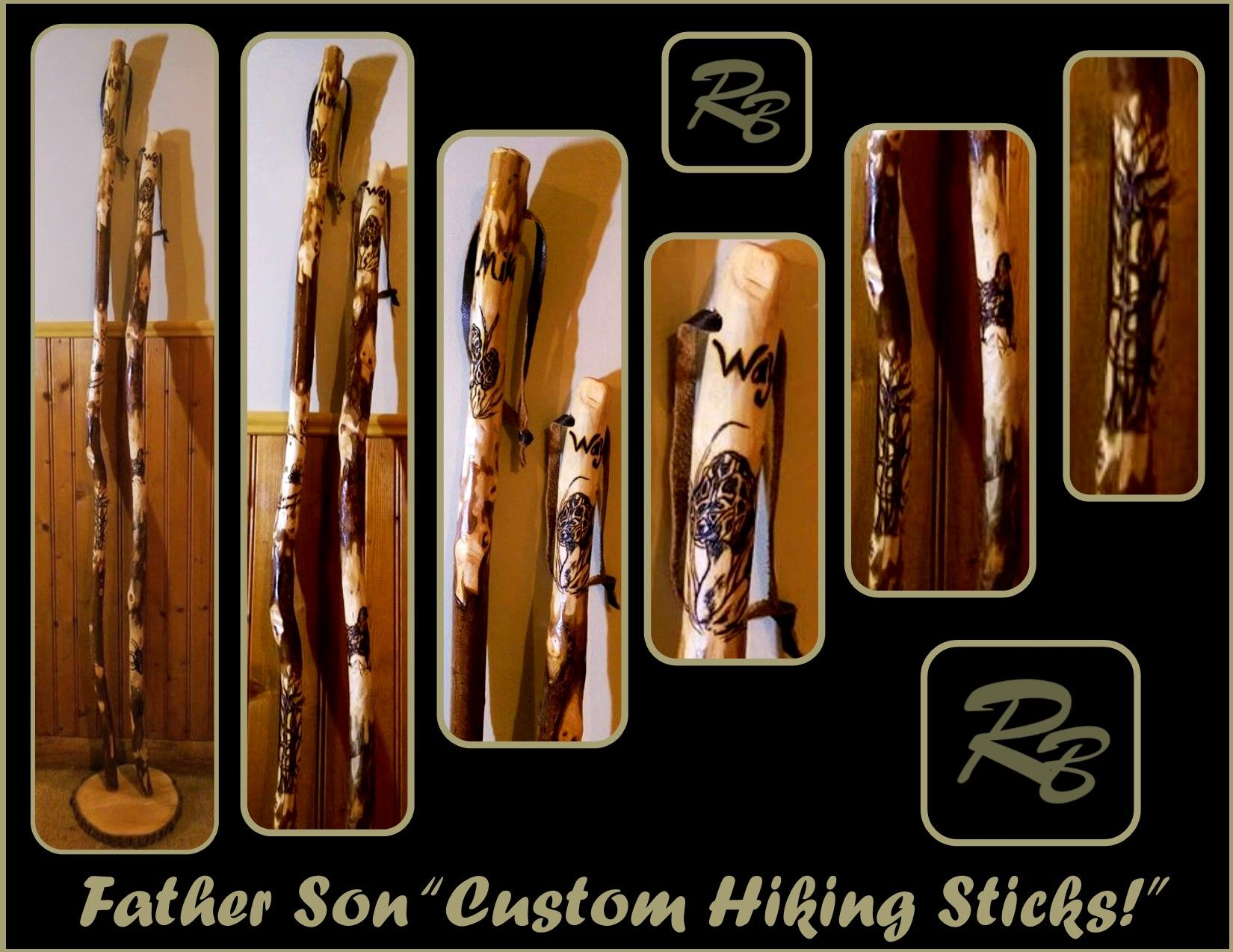 Buy a hand made hiking stickswalking stick made to order from custom made hiking stickswalking stick biocorpaavc Image collections