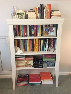 Custom Made Farmhouse Bookshelf