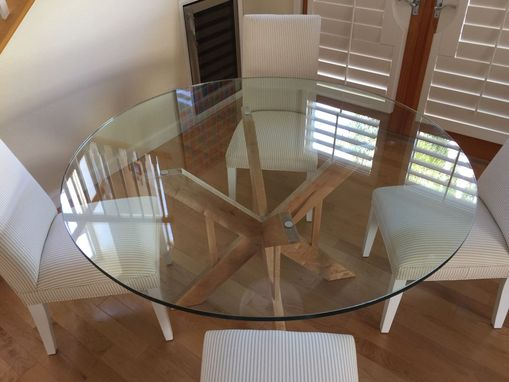 Custom Made Double X Dining Table Base