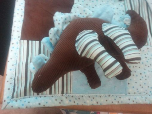 Custom Made Baby Blank With Matching Stuffed Toy