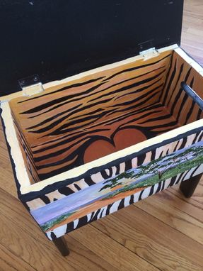 Custom Made Tiger Box