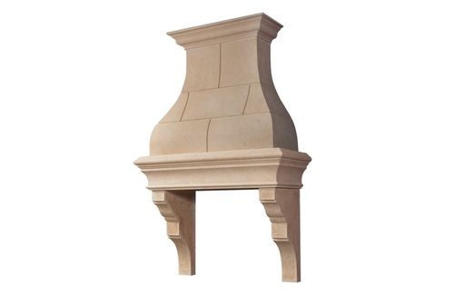 Custom Made Custom Stone Kitchen Hoods