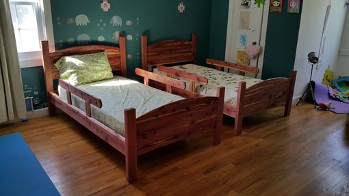 Custom Made Shaker Bed - Kids