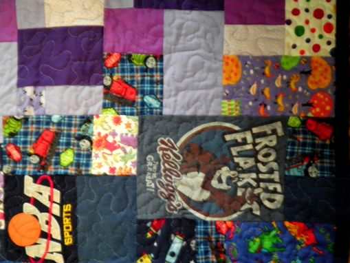 Custom Made Vincent's Memory Quilt