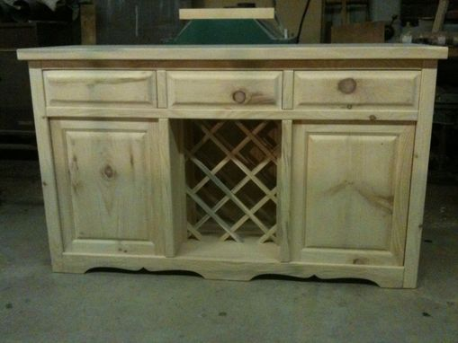 Custom Made Painted Buffet