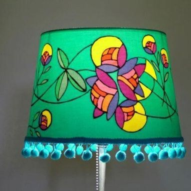 Custom Made Batik Lampshades