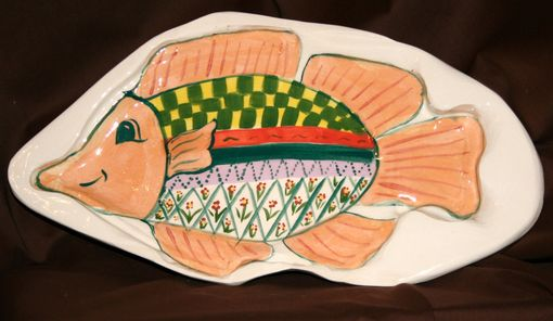 Custom Made Happy Fish Platter