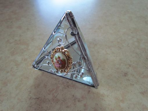 Custom Made Pyramid Trinket Box