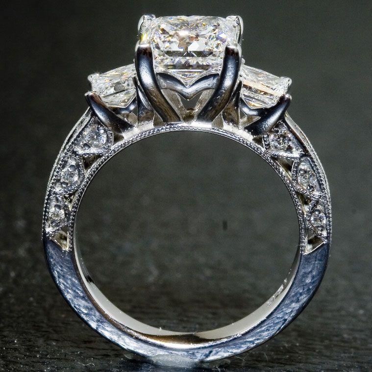 Custommade Diamond: Hand Crafted Custom Tacori Ring