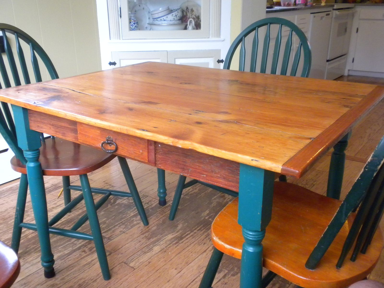 Hand Crafted Kitchen Farm Table By DMansell Creative Rustic Design - Affordable farm table