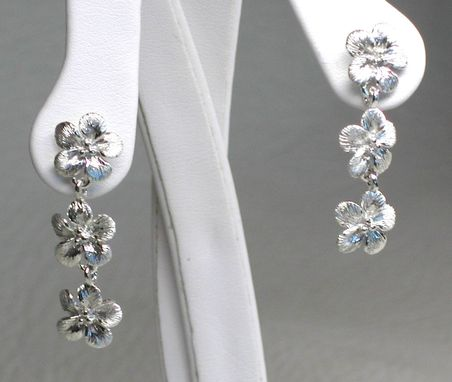 Custom Made Forget-Me-Not Post Dangle Earring
