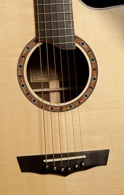 Custom Made Wenge Small Jumbo Acoustic Guitar