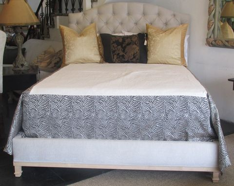 Custom Made Patricia's Tufted Bed