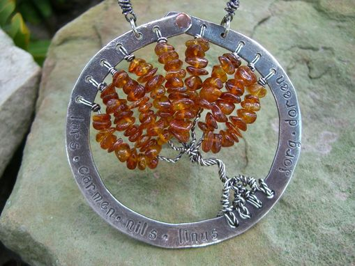 Custom Made Tree Necklace - Sterling Silver