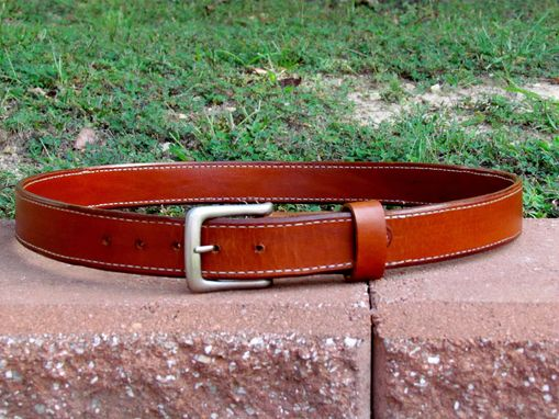 Custom Made Leather Gun Belt