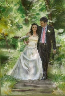 Custom Made Custom Wedding Fine Art