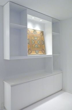 Custom Made Gallery Display Cabinet