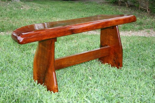 Custom Made Mesquite Bench