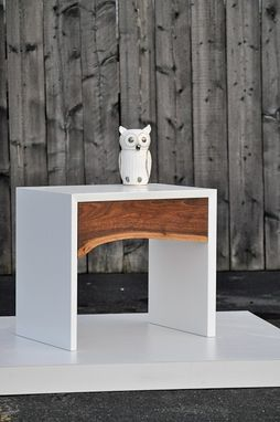 Custom Made Arctic Side Tables/ Bedside