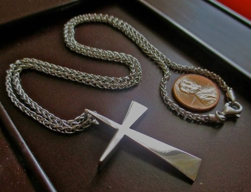Custom Made Men's Or Woman's Asymmetrical Cross