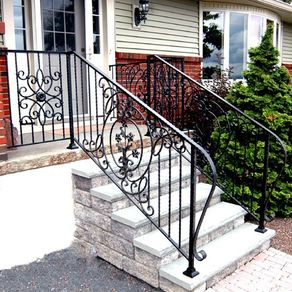 Wrought Iron Railings By Norm Paulsen