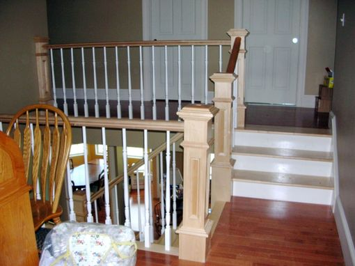 Custom Made Maple Staircase