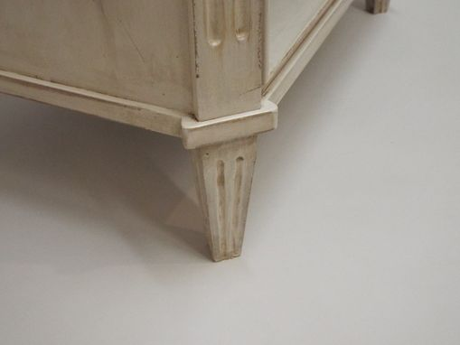Custom Made Distressed Painted Night Stand
