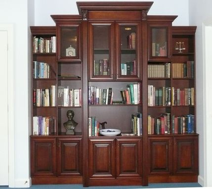 Custom Made Library In Cherry