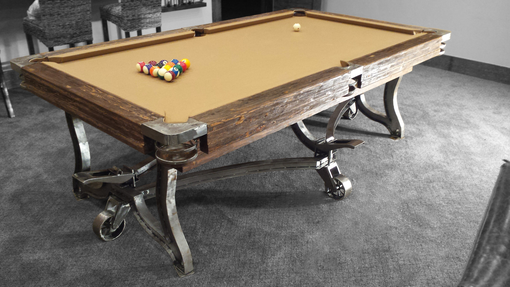 Custom Made The Park City Pool Table