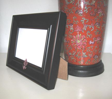 Custom Made Housewares Black Photo Frame French Fleur Di Lis