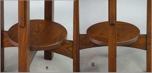 Custom Made Round End Tables