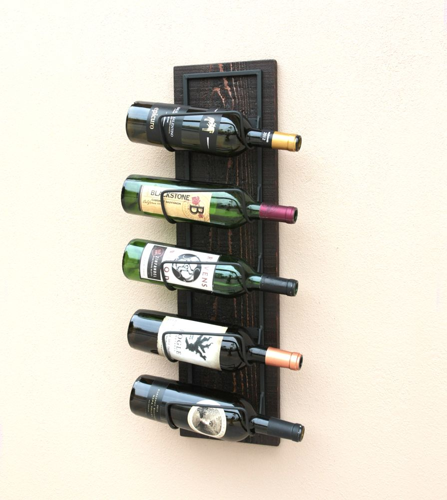 Buy Hand Made Wood Wall Wine Rack-Wall Mounted Wine Rack-Wood Wine ...